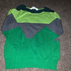 Hm green sweater size 2-4